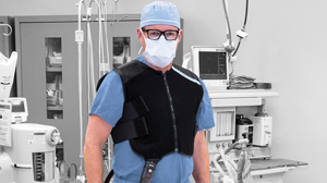 Cooling Vest Application For Surgeons